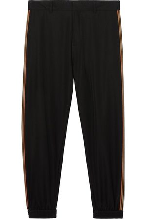 Burberry Stripe-detail technical track pants