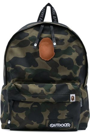 A Bathing Ape Camouflage- print backpack