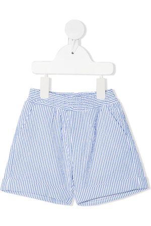 MONNALISA Pinstripe cotton shorts