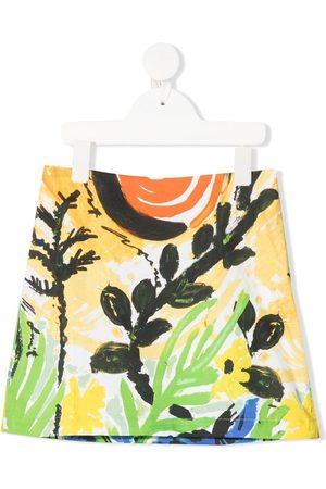 Marni All-over print skirt