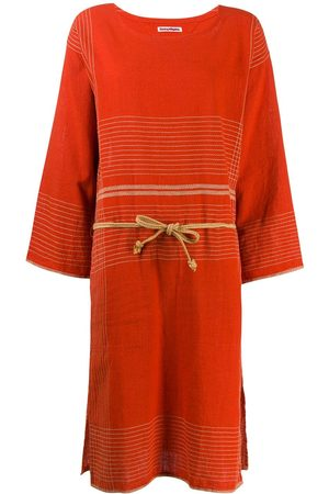 Issey Miyake 1970s stitched tunic dress