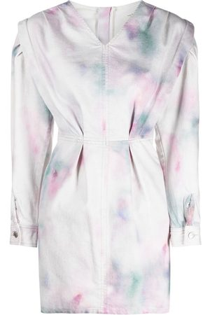 Isabel Marant Tie-dye print short dress