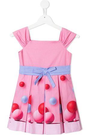 Lapin House Bouncy ball print dress