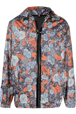 McQ Abstract floral print jacket