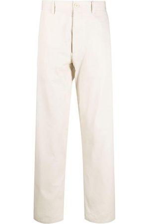 Maison Margiela Straight-leg cotton chinos