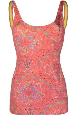 Emilio Pucci Dames Geprinte jurken - Shell-print dress swimsuit