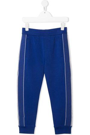 Emporio Armani Joggingbroeken - Stripe-detail track pants