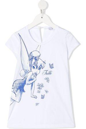 MONNALISA Tinkerbell print blouse