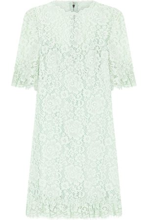 Dolce & Gabbana Floral lace cocktail dresss