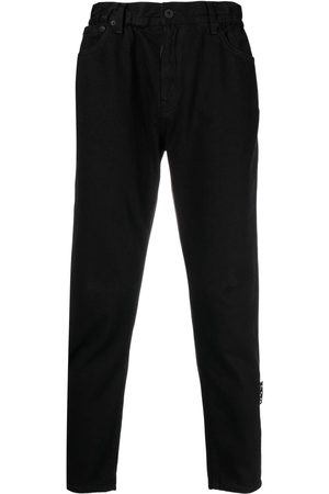 OFF-WHITE High-rise straight-leg jeans