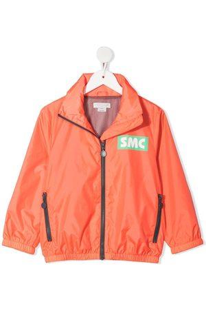 Stella McCartney Logo-print recycled-polyester rain jacket