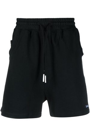 Drôle de Monsieur Logo-embroidered deck shorts