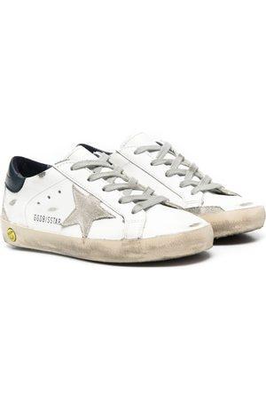 Golden Goose Jongens Sneakers - Superstar distressed sneakers