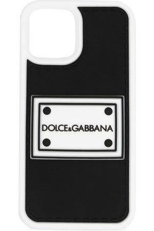 Dolce & Gabbana Logo-patch iPhone 12 Pro case