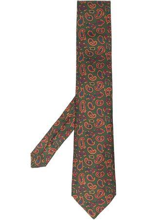 Etro Heren Vlinderdassen - Paisley-print tie