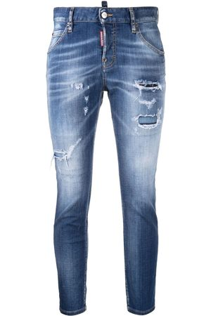 Dsquared2 Ripped detailing skinny jeans