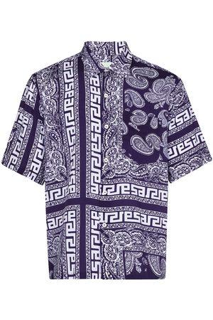 ARIES Bandana-print short-sleeve shirt