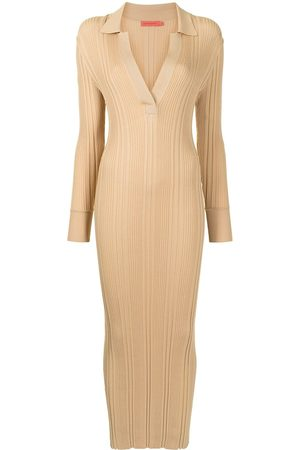 MANNING CARTELL Fitted ribbed-knit dress