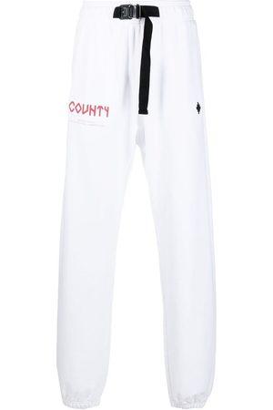 MARCELO BURLON County track trousers