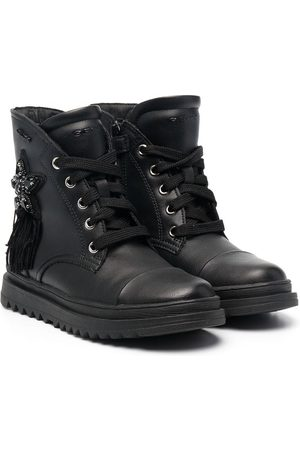Geox Star-patch ankle-length boots