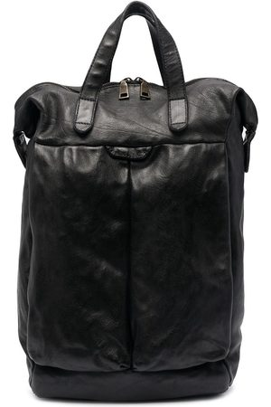 Officine creative Helmet 28 buffalo leather backpack