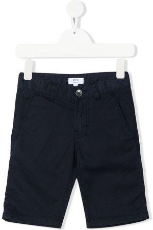 HUGO BOSS Logo patch shorts