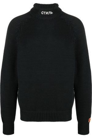 Heron Preston Heren Coltruien - CTNMB knitted turtleneck jumper
