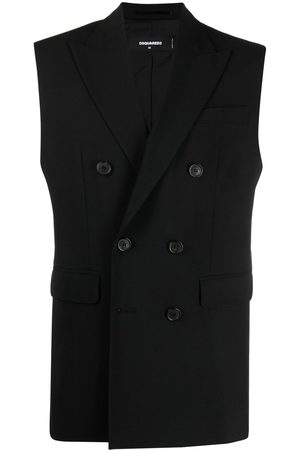 Dsquared2 Heren Bodywarmers - Double-breasted tailored gilet