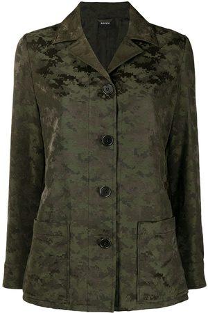 Aspesi Camouflage-print jacket