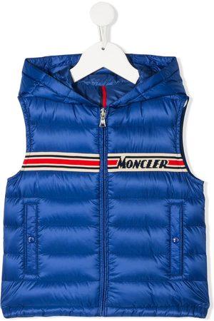 Moncler Logo colour-block gilet