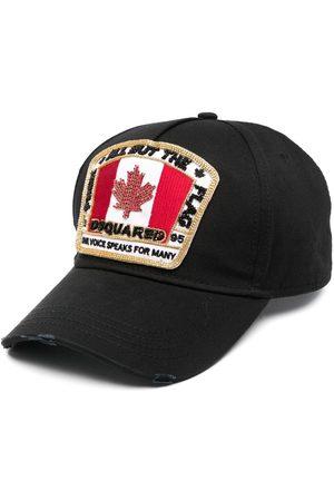 Dsquared2 Beaded cotton cap
