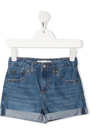 Levi's Meisjes Shorts - Mid-rise denim shorts