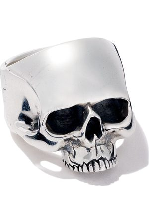 The Great Frog Jawless medium anatomical skull ring