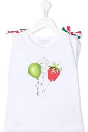 MONNALISA Balloon print sleeveless top