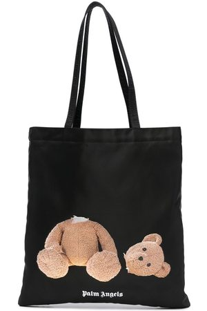 Palm Angels Bear shopping tote bag