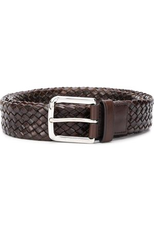 Church's Square buckle woven belt
