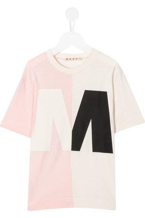 Marni Colour-block cotton T-shirt