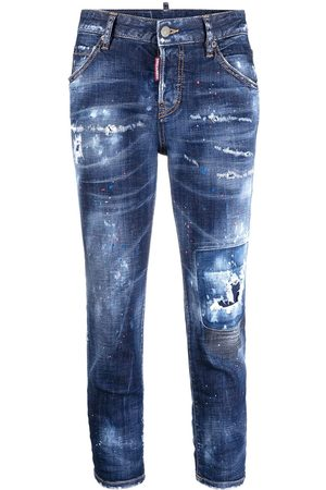 Dsquared2 Dames Straight - Straight-leg jeans
