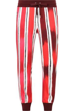 Dolce & Gabbana Brushstroke-print track pants