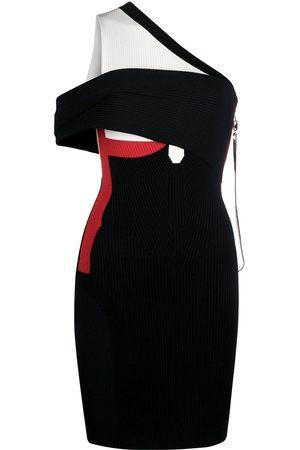 AZ FACTORY MyBody asymmetric wrap dress
