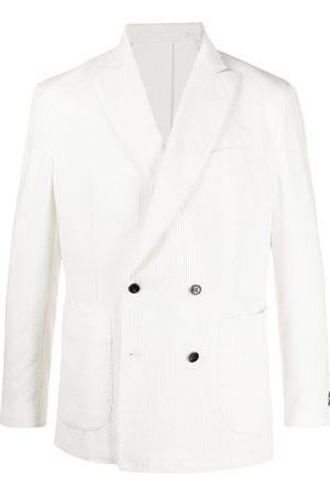 MACKINTOSH Double-breasted corduroy blazer