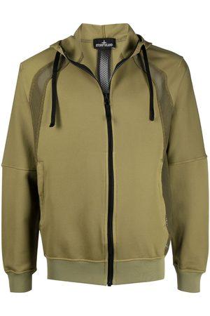 STONE ISLAND SHADOW PROJECT Heren Hoodies - Panelled zip-up hoodie
