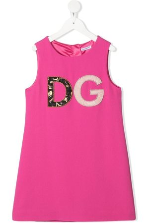 Dolce & Gabbana Logo patch dress