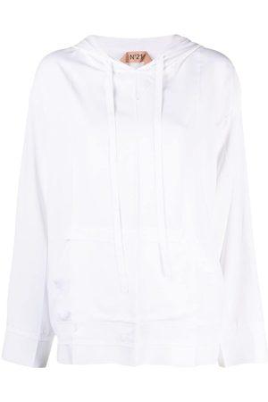 Nº21 Drop-shoulder hoodie
