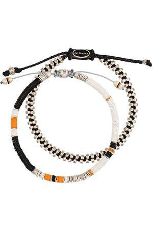 M. COHEN Heren Armbanden - Set of 2 beaded bracelets