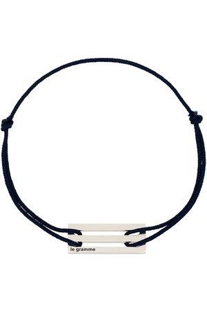 Le Gramme Heren Armbanden - Le 2.5g cord bracelet