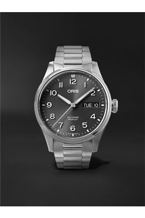 Oris Big Crown ProPilot Big Day Date Automatic 44mm Stainless Steel Watch, Ref. No. 01 752 7760 4063-07 8 22 08P