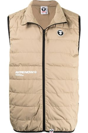 AAPE BY A BATHING APE Padded zip-up gilet