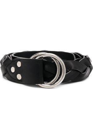 Ami Braided-effect D-ring belt
