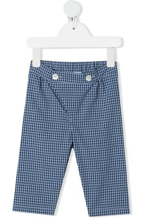 SIOLA Gingham-check print trousers